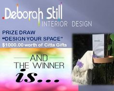 Thank you to all who entered our prize draw the winner is announced on our website www.deborahstilldesign.co.nz