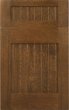 Tahoe Beaded | Wood-Mode | Fine Custom Cabinetry Shown in Dark Lager finish on quarter sawn red oak.  cerused