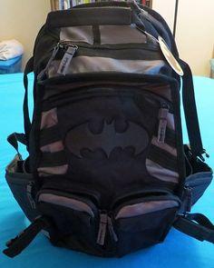 Batman Tactical Backpack - New - Licensed DC Comics Better Built Design