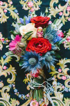 Russisches Folklore trifft auf spanische Leidenschaft KRISTINA ASSENOVA http://www.hochzeitswahn.de/inspirationsideen/russisches-folklore-trifft-auf-spanische-leidenschaft/ #mariage #wedding #colourful