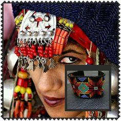 Etnik bileklik tasarımları www.zet.com / tasarimci / bykus