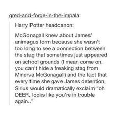 Oh DEER~ Sirius It looks like someone RATTED on you James~ Remus  I think he is aWERE of that~ Peter Are you  serious~ James no- ~Remus & Peter  -but I am~ Sirius