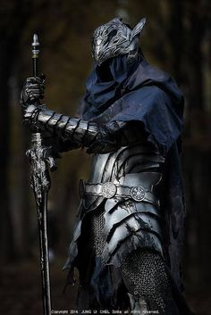 Dark Souls- Set of Artorias Cosplay - - sekigan Armadura Medieval, Medieval Armor, Medieval Fantasy, Medieval Gown, Fantasy Armor, Dark Fantasy, Costume Chevalier, Character Inspiration, Character Art