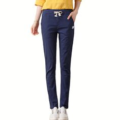 2017 New Fashion Women's Cotton Linen Pants Wide Commuter Flax Elastic Waist Casual Harem Pants Women Pantalon Femmel * AliExpress Affiliate's buyable pin. Click the image to view the details on www.aliexpress.com