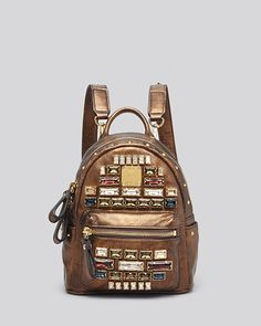 MCM backpack-Stark Edelin-baby-jeweled. Anne Hsu · bizarre bags 85c7ad072a40c