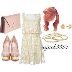 Simple..Love the dress :)