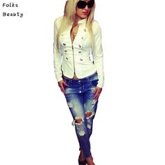 Barato Casaco fino 2015 primavera Casaco Parka Jacket Women Casual chaquetas mujer Casaco Feminino Casaco Feminino Casaco branco mulher, Compro Qualidade Jaquetas Básicas diretamente de fornecedores da China:      US $7,89       /Peça           US $19,99       /Peça           US $39,98       /Peça     &n