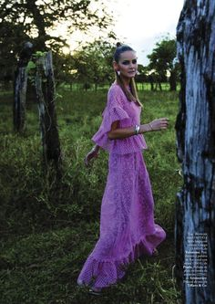 Flavia de Oliveira x Elle Spain June 2012 photographed by Riccardo Tinelli
