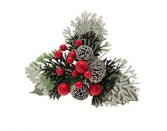 Festive Floristry Picks for Christmas Wreath Making Christmas Crafts For Adults, Christmas Picks, Christmas Wreaths, Christmas Arrangements, Christmas Table Decorations, Holiday Decor, Wooden Picture, Grandma Gifts, How To Make Wreaths
