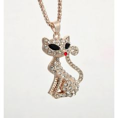 Foxy Cat Necklace