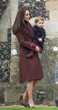 Kate Middleton Is the Ultimate Wardrobe-Repeater on Christmas Day