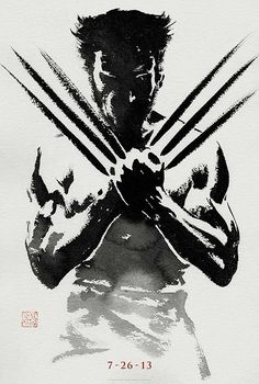 The Best Movie Posters Of 2012 | Wolverine