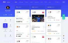 bwin Saved designed by Slava Kornilov for Geex Arts. Connect with them on Dribbble; Dashboard Interface, Web Dashboard, Dashboard Design, User Interface Design, Ui Design Mobile, Web Ui Design, Web Design Trends, Graphic Design, Mobile Ui
