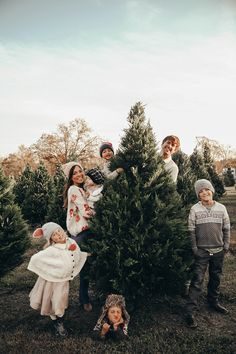 I wanted to tell you a quick story. A few years ago we felt like we should buy an extra tree for someone who might need one. Winter Family Photos, Xmas Photos, Family Christmas Pictures, Holiday Pictures, Farm Pictures, Farm Photo, Christmas Tree Farm, Christmas Photography, Inspiration