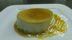 Heerlijk vanille pudinkje met caramelsaus