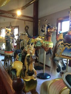 Explore the history housed at The New England Carousel Museum in Bristol, CT. On Open House Day (June 14, 2014), they're open from 10 a.m. until 5 p.m., and each visitor will receive half-off regular admission and a free ride on the carousel.