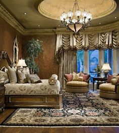 20 Tuscan Bedroom Design Ideas to Transport You to Italy Bedroom Carpet, Home Bedroom, Tuscan Bedroom, Traditional Bedroom Decor, Master Bedroom Design, Master Room, Master Suite, Luxurious Bedrooms, Luxury Bedrooms