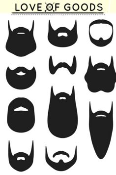 Find Set Beard Silhouettes stock images in HD and millions of other royalty-free stock photos, illustrations and vectors in the Shutterstock collection. Thousands of new, high-quality pictures added every day. Beard Silhouette, Silhouette Clip Art, Beard Logo, Beard Grooming, Medical Illustration, Beard No Mustache, Swirl Design, Illustrations, Hair And Beard Styles