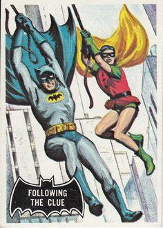 A classic Topps Batman card from the Batman 1966, Batman Art, Batman Robin, Batman And Superman, Batman Cartoon, Batman Stuff, Comic Book Characters, Comic Book Heroes, Comic Books Art