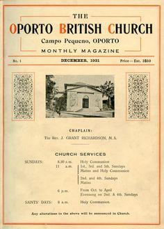 OPORTO BRITISH CHURCH - OPORTO BRITISH CHURCH