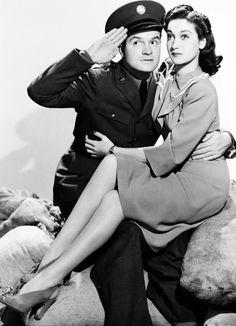 Bob Hope and Dorothy Lamour