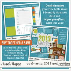 Goal-tastic: 2013 Goal-Setting Bundle