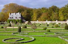 Gardens of Diane de Poitiers at Chenonceau