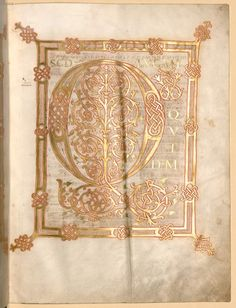 Lukas- und Johannesevangelium - BSB Clm 11019, Mainz (?), Ende 9. Jh. oder Anfang 10. Jh.