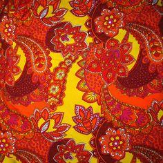 paisley in orange & yellow | Flickr - Photo Sharing!