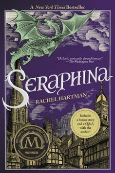 Seraphina by  Rachel Hartman - Love this book.  If you're a fantasy fan, what are you waiting for?