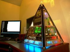 Pyramid gaming computer