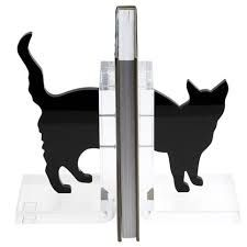 Image result for Pictures of cat book ends