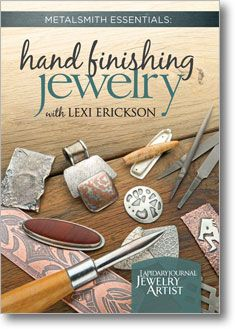 Lexi Erickson is a masterful jewelry artist with decades of experience teaching metalsmithing to students. Who better to learn from, about hand finishing your metal jewelry? Her DVD is a must-have! Along with thousands of other items, it's on sale now in the Resolve to Save event, through January 29, 2013, at 11:59pm CT. #Resolve2Save