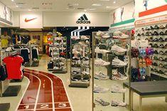 6bbb2ace4 Loja de calçados e artigos esportivos. Projeto com linha Click ...