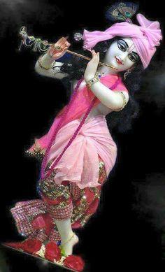 Sri Krishna in pink......