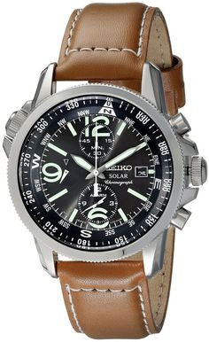 Best Seiko Chronograph Watch , Top 10 chronograp watch from Seiko Seiko is one of the best watch brand in the world. Seiko have been known to make good quality Choronograph watches for a very compe… Men's Watches, Casual Watches, Sport Watches, Cool Watches, Fashion Watches, Watches Online, Analog Watches, Mens Watches Under 200, Watches For Men Unique