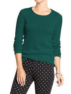 Women's Crew-Neck Sweaters | Old Navy $15