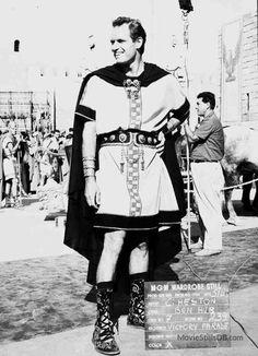 Ben-Hur--Charlton Heston wardrobe test