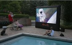 Why not add a theater system to your yard? The drive-in theater may be a fond memory of a bygone era; however, the mystique of outdoor movies is still alive and well. Open Air Cinema announces a whole new way to enjoy the thrills and fun of movies under the stars with its CineBox Home backyard theater system.