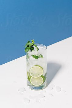 Cocktail Stock Photos by CAMERON WHITMAN [Royalty-Free Stock Photos] Bramble Cocktail, Mojito Cocktail, Glass Photography, Lifestyle Photography, Beverages, Drinks, Fresh Mint, Simple Syrup, Gin