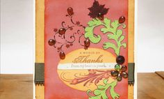Crafts n' things Weekly - a world of thanks card