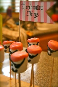 Ideas from my daughters' pink pirate party http://lasvegasmama.blogspot.com/2013/01/girl-pirate-birthday-ideas.html
