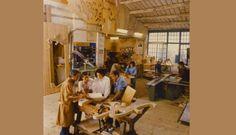 Foto Storiche : Bottega Michelangeli Orvieto - Mobili e Arredo in legno Historic photos :Artisans creating craft