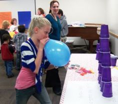 VBS Minute to Win It Games