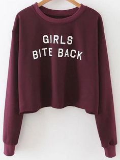 SHARE & Get it FREE | Letter Print Crop SweatshirtFor Fashion Lovers only:80,000+ Items • New Arrivals Daily Join Zaful: Get YOUR $50 NOW!