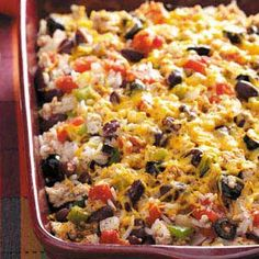 Mexicali Casserole Recipe | Taste of Home Recipes