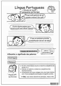 SOS PROFESSOR-ATIVIDADES: O pequeno príncipe Google Drive, Memes, Album, Comics, Sos Professor, Lp, Writing Activities, Reading Activities, Activity Books