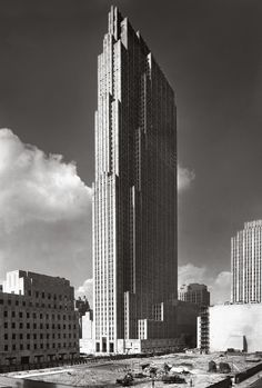 US, New York (NY), Rockefeller Center. Architect Raymond Hood, 1940.