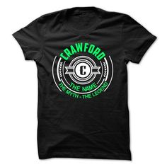 Crawford the myth the legend - #slogan tee #hoodie novios. CHECK PRICE  => https://www.sunfrog.com/LifeStyle/Crawford-the-myth-the-legend.html?60505