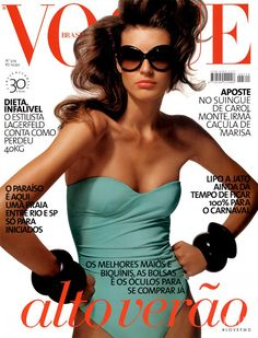 Covers of Vogue Brazil with Michelle Alves, 000 2006 | Magazines | The FMD #lovefmd